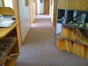 office hallway wrinkled