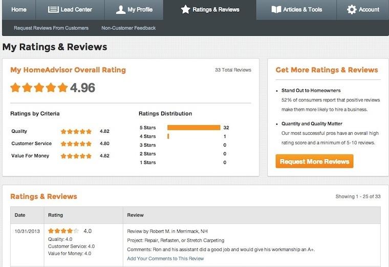 HomeAdvisor Reviews | Carpet Repair Specialists